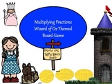 Multiplying Fractions Board Game - Wizard of Oz Theme