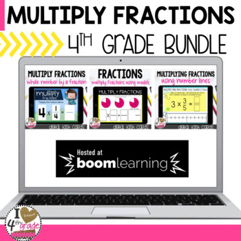 Multiplying Fractions Boom Cards