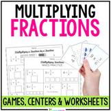 Multiplying Fractions Activity Bundle