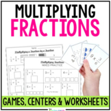 Multiplying Fractions Activity Bundle