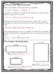 Multiplying Fractions By a Whole Number Worksheet/Test (5.NF.B.4.A and 5.NF.B.6)