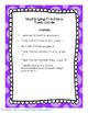 Multiplying Fractions CCSS Task Cards and Worksheets