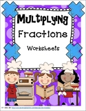 Multiplying Fractions CCSS Worksheets