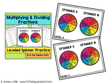 Multiplying Fractions Stations