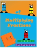 Multiplying Fractions-Common Core 4th and 5th Grade
