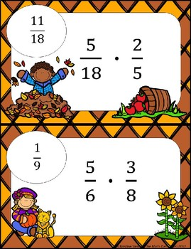 Multiplying Fractions: Computation - Math Scavenger Quests