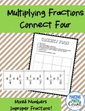 Multiplying Fractions Connect Four