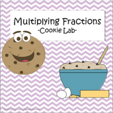 Multiplying Fractions Cookie Lab