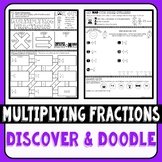 Multiplying Fractions Discover & Doodle