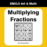 Multiplying Fractions - Emoji Art & Math - Draw by Number | Coloring Pages