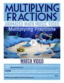 Multiplying Fractions | Free BINGO Game, Worksheet, & Fun Video | 5th-6th Grade