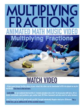 Multiplying Fractions | Free BINGO Game, Worksheet, & Fun