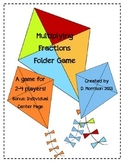 Multiplying Fractions Folder Game/Center
