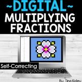 Multiplying Fractions | Fraction Pixel Art Pictures