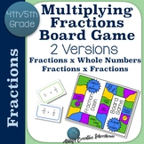 Multiplying Fractions Game