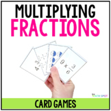 Multiplying Fractions Card Games