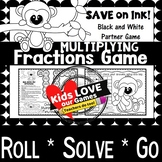 Multiplying Fractions Game: 5th Grade Fractions Math Game