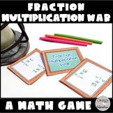 Multiplying Fractions Game War