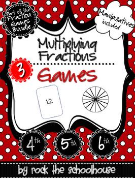 Multiplying Fractions Games