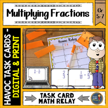 Multiplying Fractions Havoc Relay