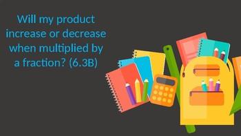 Multiplying Fractions - Increase or Decrease?