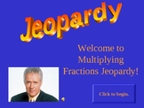 Multiplying Fractions Jeopardy