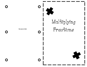 Multiplying Fractions Journal Entry (with models)