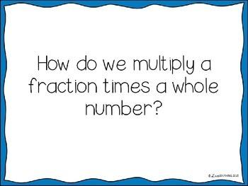Multiplying Fractions Lesson