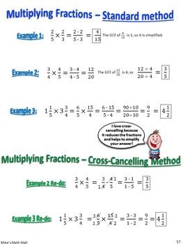 Multiplying Fractions Made Easy! (Bundled Unit)