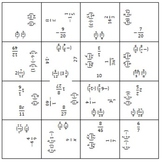 Multiplying Fractions - Make a Squares