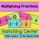 Multiplying Fractions Center