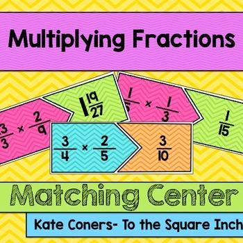 Multiplying Fractions Center