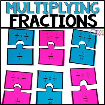 Multiplying Fractions Matching Game