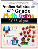 Multiplying Fractions Math Game Grade 4 File Folder Game