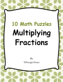 Multiplying Fractions Puzzles