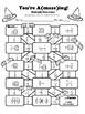 Multiplying Fractions - Maze (Halloween Version)