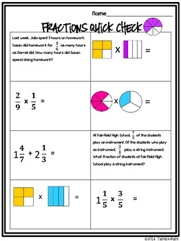 Multiplying Fractions: Mix n' Mingle Review *Individual Worksheet Included*