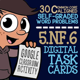 Multiply Fractions & Mixed Numbers Task Cards ★ 5th Grade