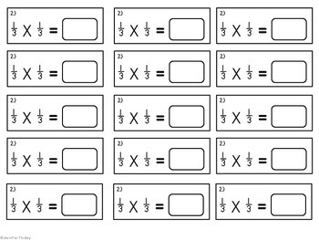 Multiplying Fractions & Mixed Numbers {Computation Intervention}