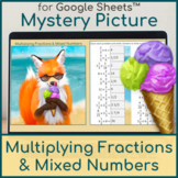 Multiplying Fractions & Mixed Numbers | Distance Learning