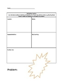 Multiplying Fractions Organizer for Common Core