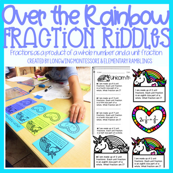 Multiplying Fractions: Over the Rainbow Riddles