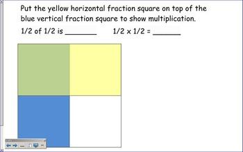 Multiplying Fractions Pack