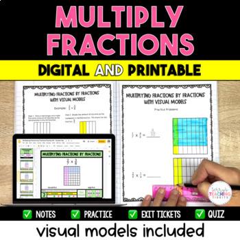 Multiplying Fractions Packet