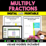 Multiplying Fractions Packet