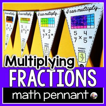 Multiplying Fractions Pennant