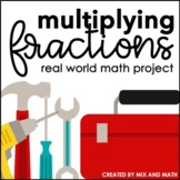 Multiplying Fractions Project | Distance Learning