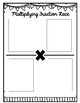 Multiplying Fractions Race: Math Center Game {4.NF.4}