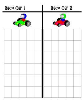 Multiplying Fractions Racecar Game
