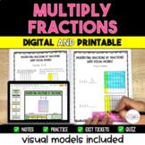 Multiplying Fractions Resource Bundle {Digital & Printable}